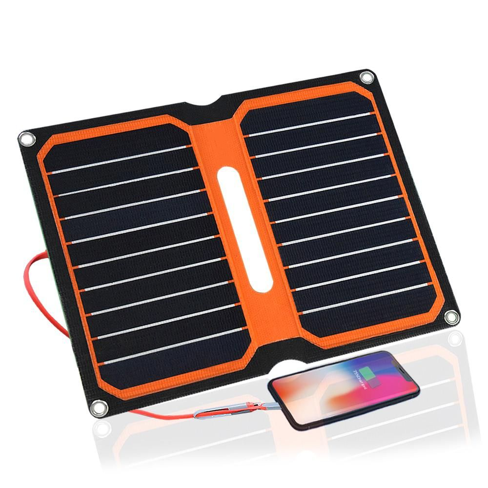 Boguang Solar Charger 5v 10w Etfe High Efficiency Portable Solar Charger 12v Solar Panel Cell Flexible Camping Outdoor Use 12v Solar Panel Solar Charger Portable Solar Charger