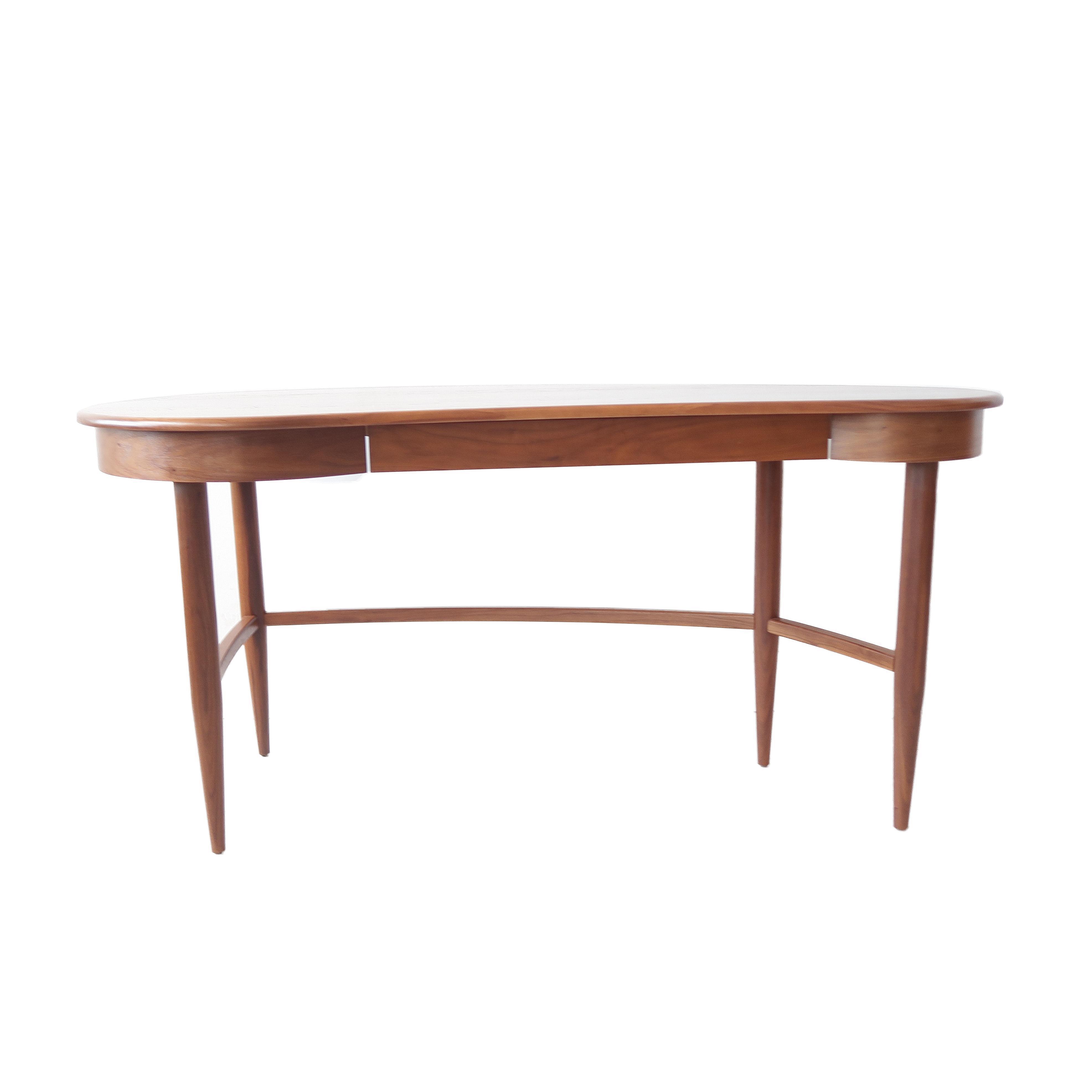 room and board kidney shaped desk home mid century desk room desk rh pinterest com boardroom desk mug board room deski