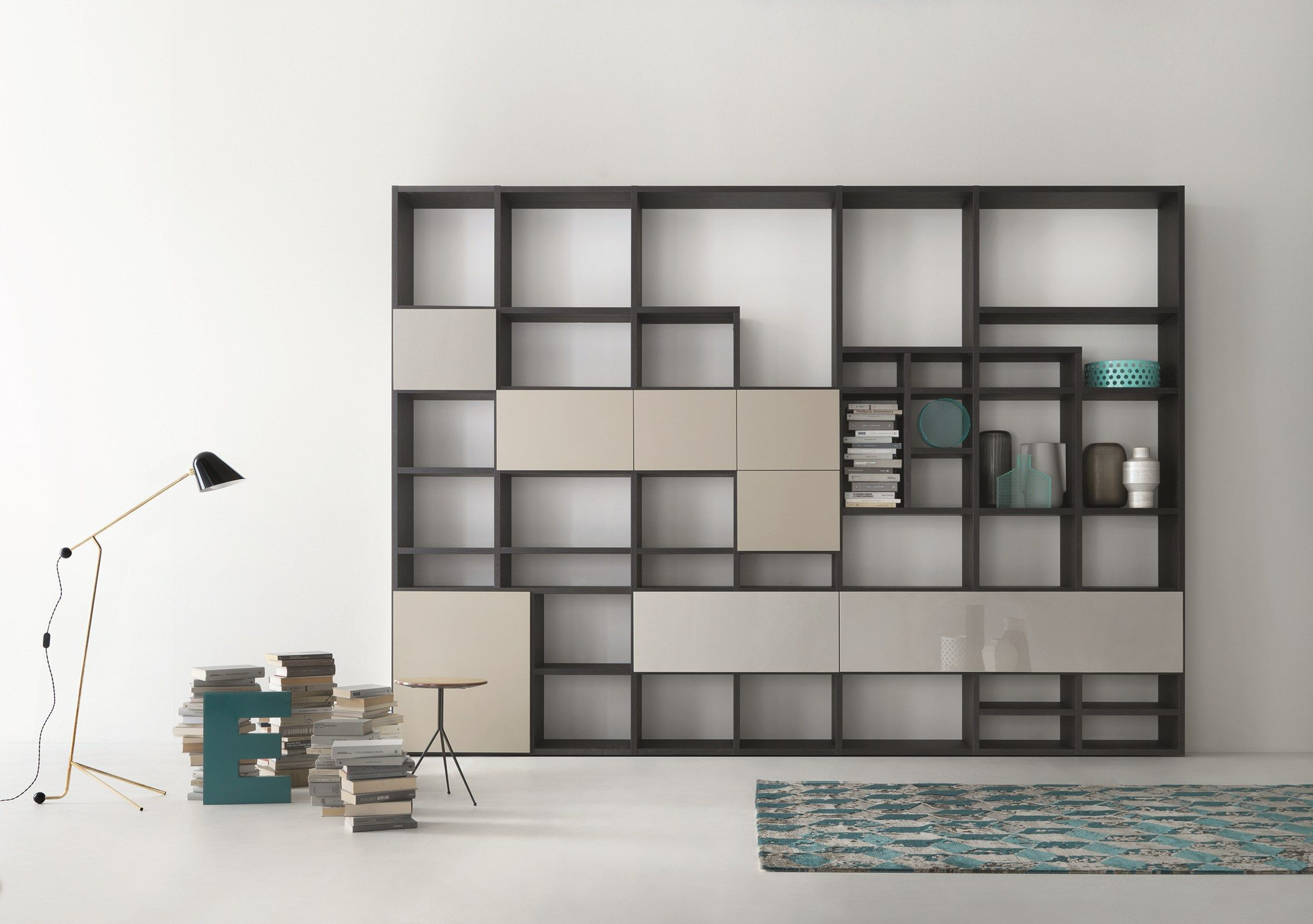 Librer a composable modular a medida selecta by lema for Lema arredamenti