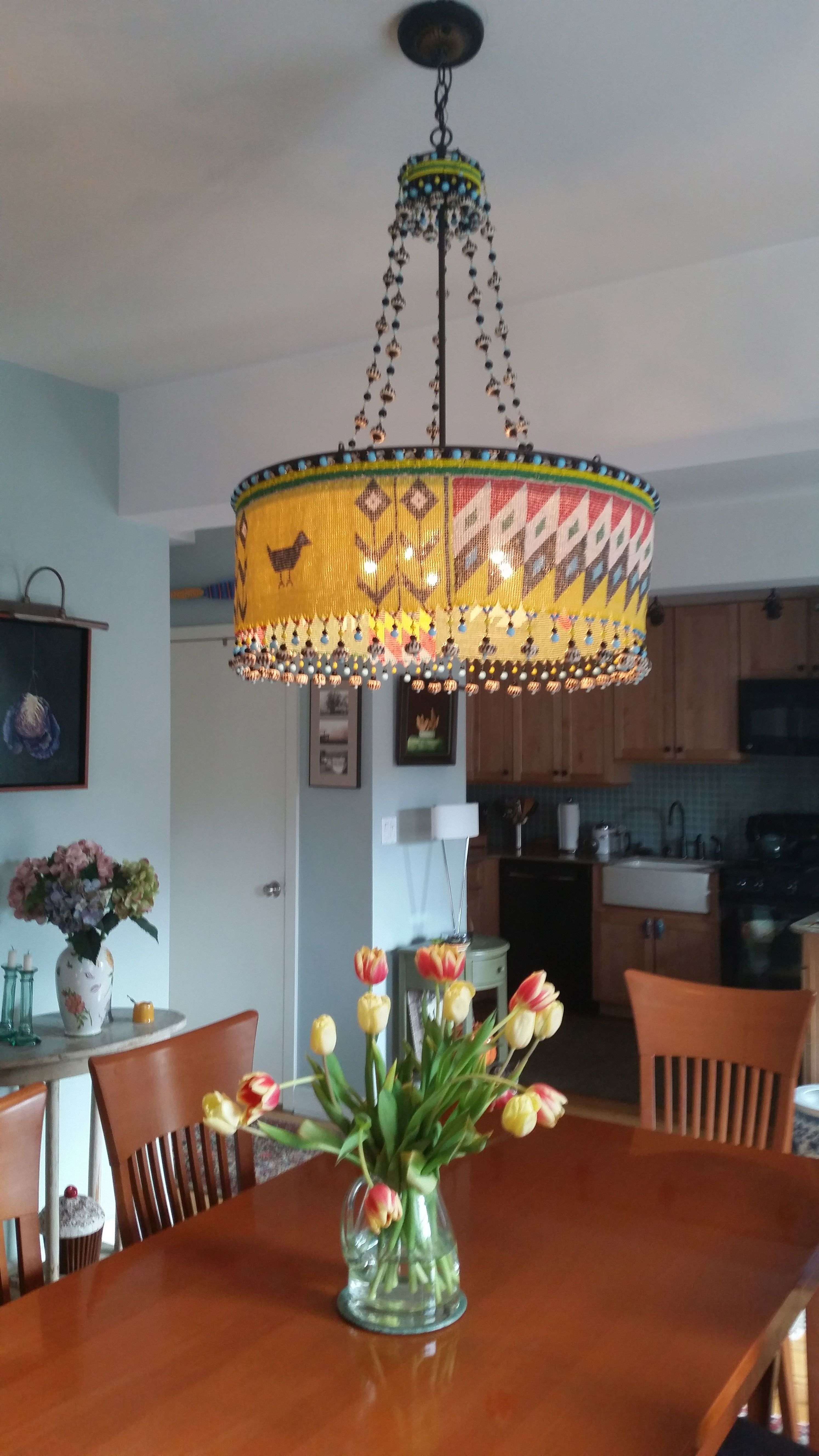 Custom 5 light Kirdi & Custom 5 light Kirdi | Canopy Designs @ abc home - installations ...