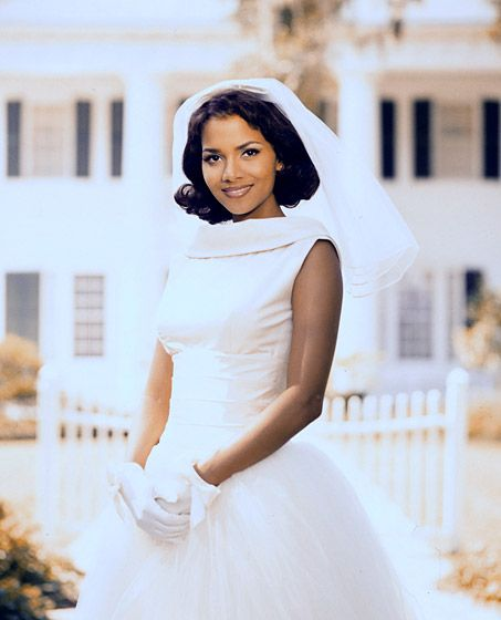 Halle Berry Wedding Gowns