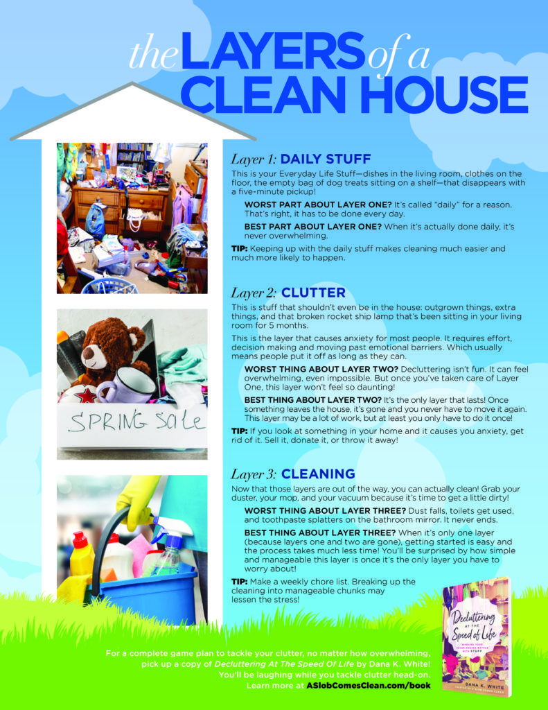 A Clean House Has Layers | A Slob Comes Clean | Clean house