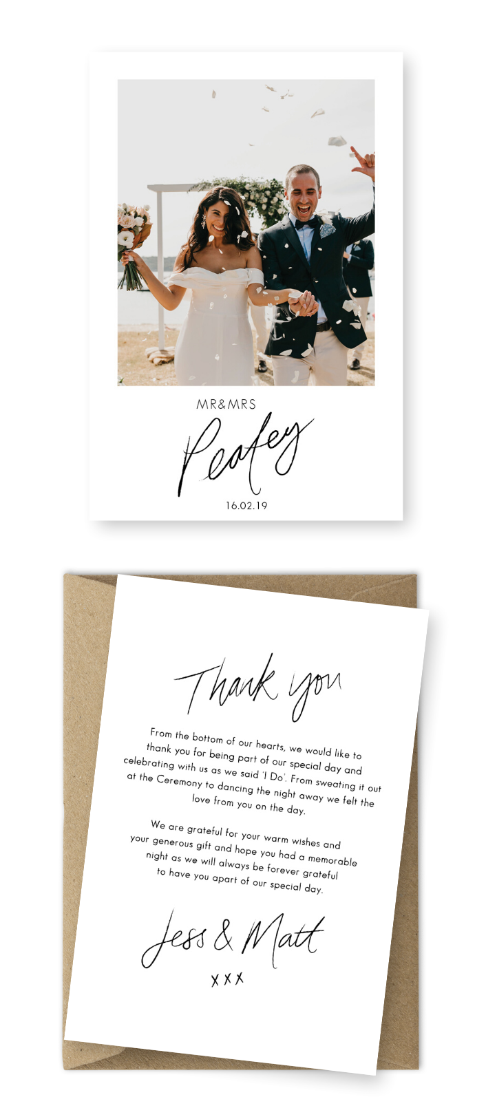 Wedding Thank You Messages from Bride and Groom Wedding