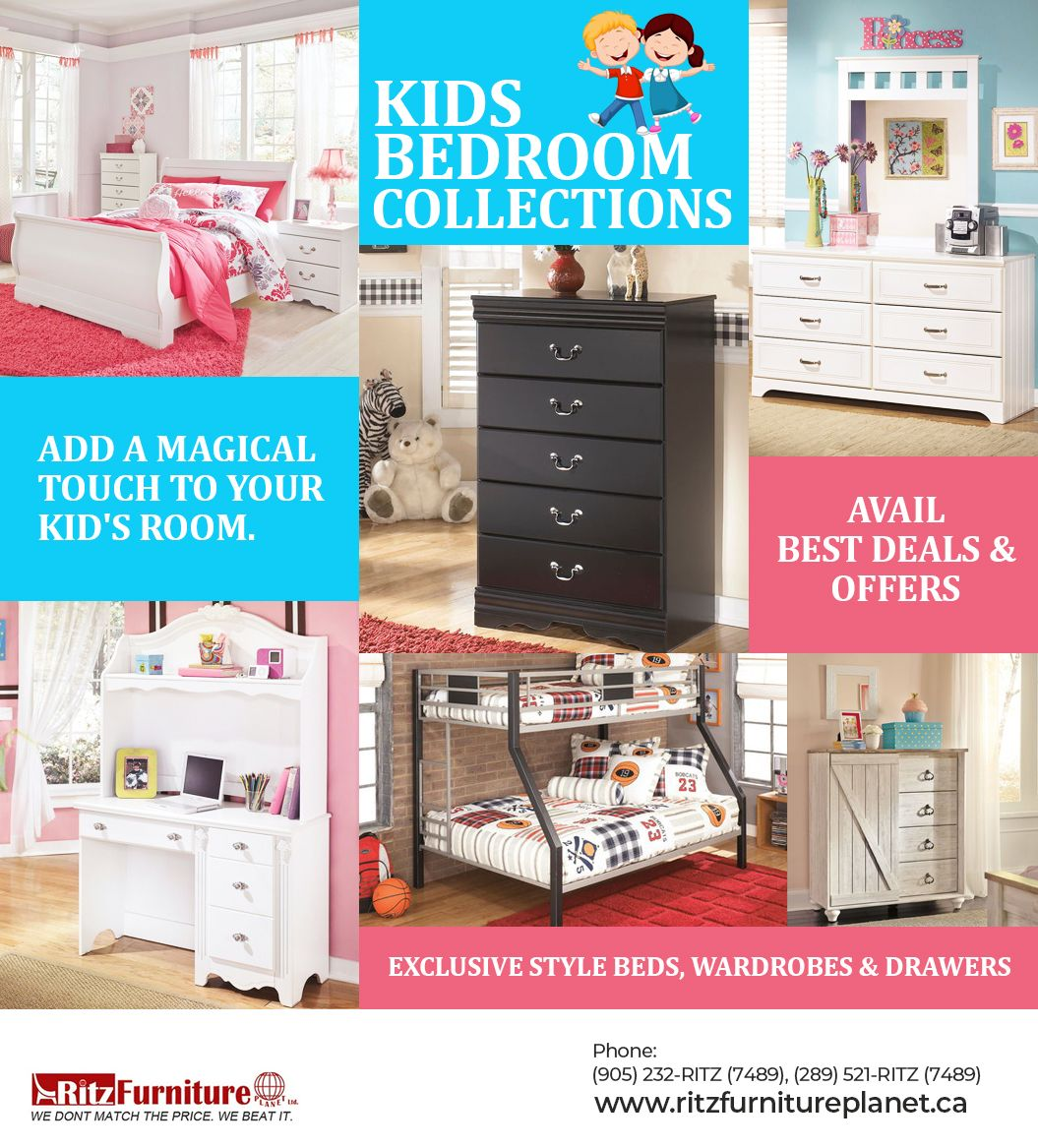 Kids Bedroom Collections in Mississauga in 9  Bedroom