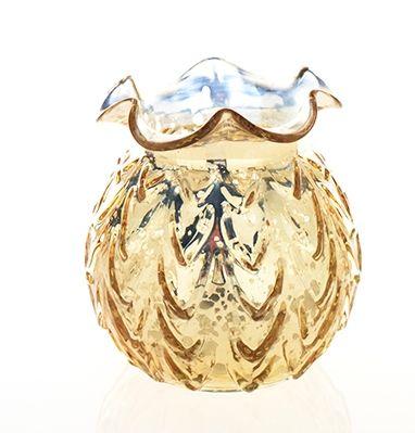 Caraway Gold Mercury Vase 500 Santa Cruz Wedding Rentals