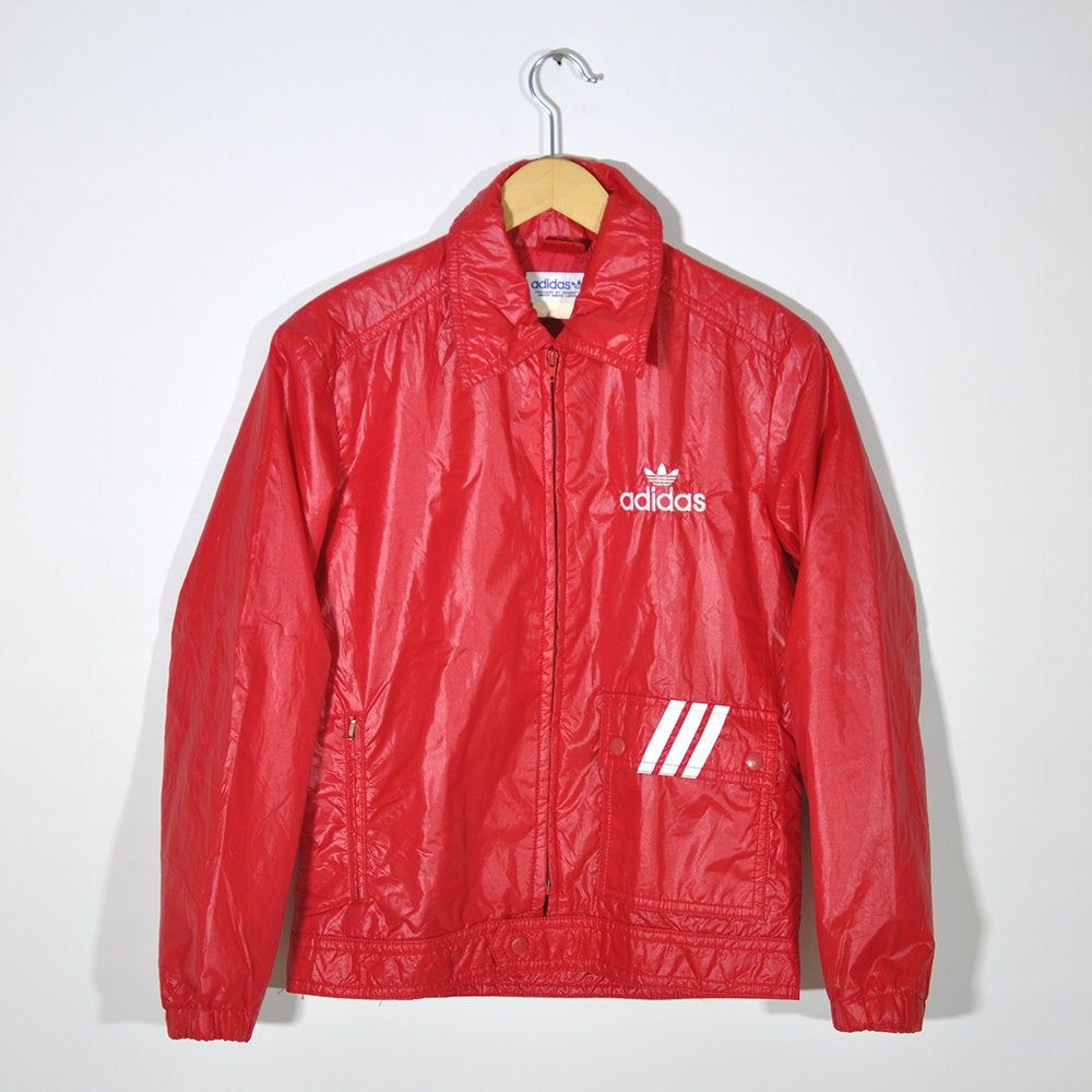 Rare 90s Vintage Adidas Windbreaker Bomber Jacket Fall Winter Snow Jacket Would Fit S To M Bomber Jacket Fall Vintage Adidas Jackets [ 1000 x 1000 Pixel ]