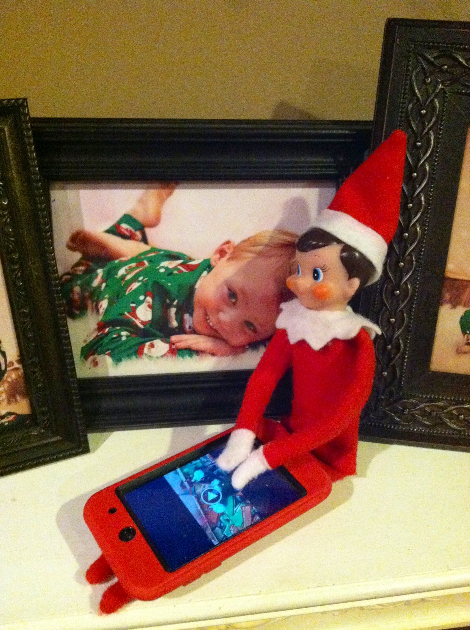 Carson made a Christmas Jib Jab video of Mason and put it on Mason\'s ...