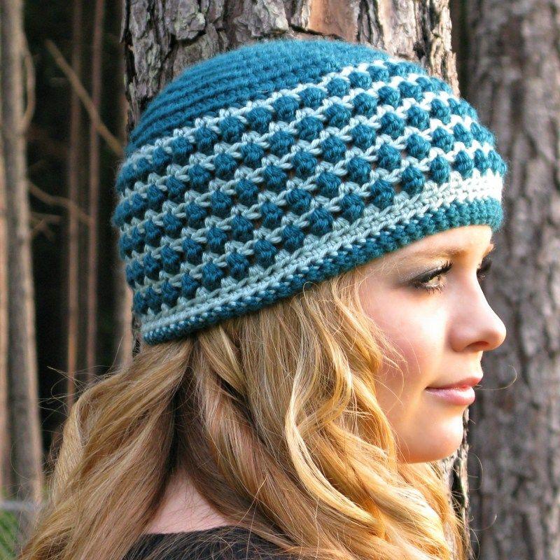 Kodey\'s Beanie - A Free Crochet Hat Pattern by ELK Studio