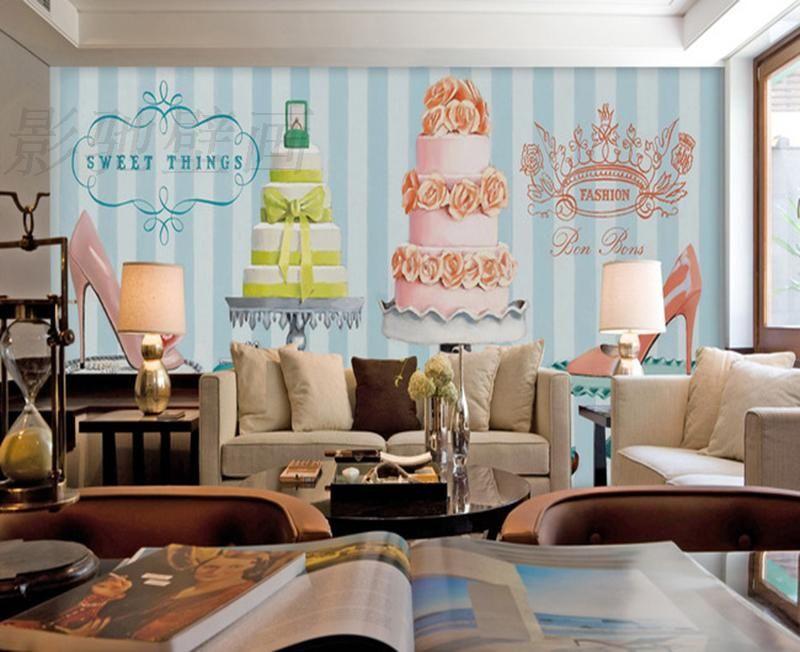 Decoracion de paredes de pastelerias buscar con google for Outlet de decoracion online