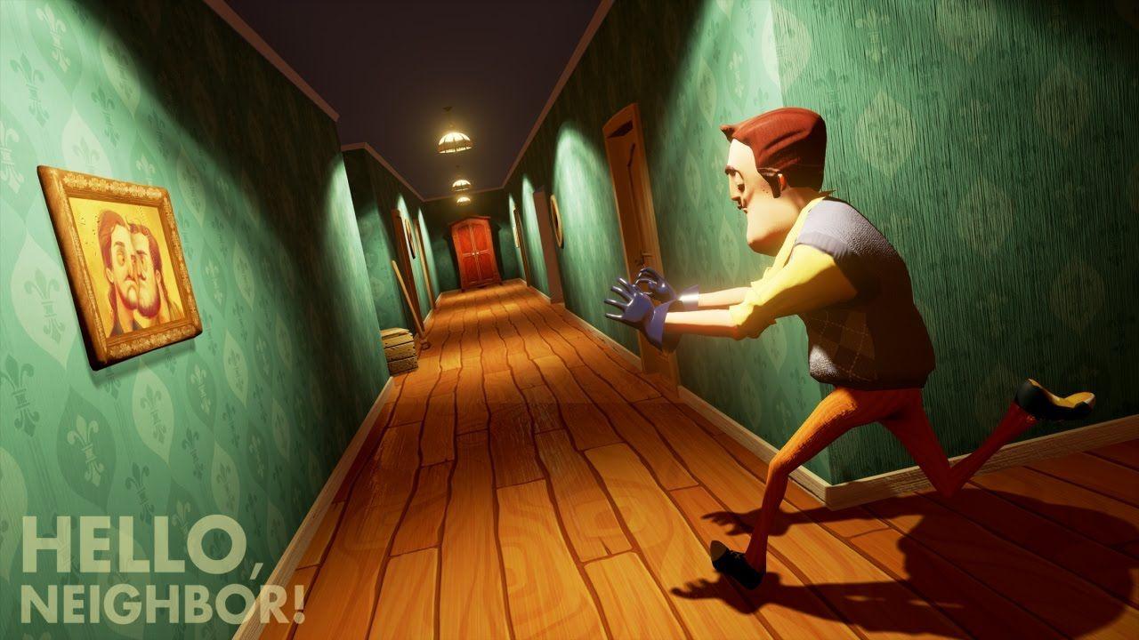 Hello Neighbor Oyunu Oyna Merhaba Komsu Komsunuzun Evine Gizlice Girip Bodrum Katinda Ne Sakladigini Bulmakla Ilgili Bir Gizli Oyun Egitim Tarihi Savas Topu