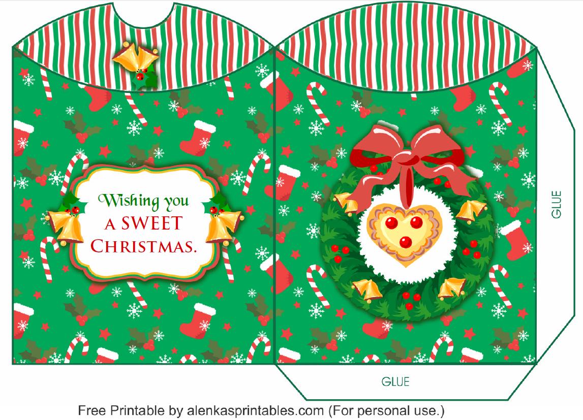 Http Alenkasprintables Com 25daysofchristmasday21 Html Http Alenkasprintables Com 25daysofchristmas Html Christmas Printables Box Template Christmas