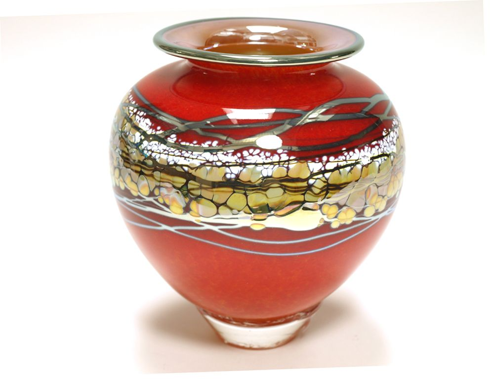 Bryon Sutherland Small Lava Amphora Vase