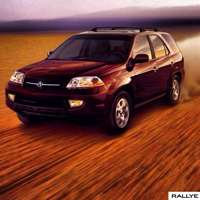 The #2001 #acura #mdx. Capable Enough To Make Limitations