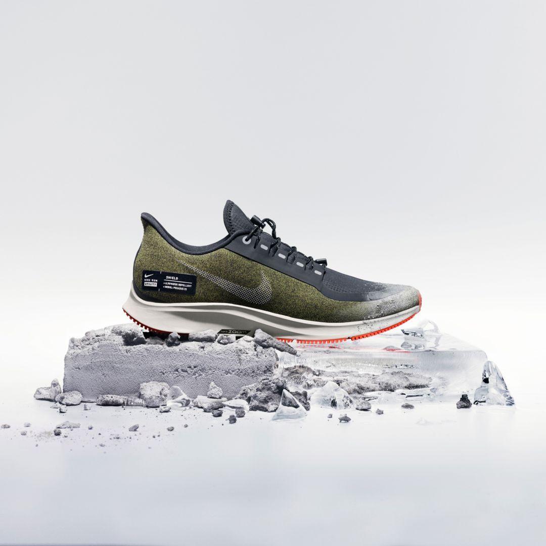 Air Zoom Pegasus 35 Shield Water Repellent Men S Running Shoe Shoes Ads Running Shoes For Men Shoes Editorial