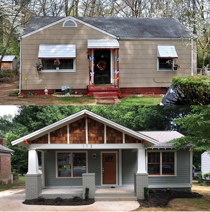 Atlanta Bungalow Renovation: Before And After Home Decoration 518617713337012554