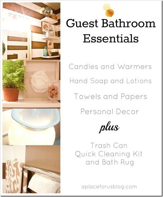 Guest Bathroom Essentials Cgc Cleanhands Spon Guest Bathroom Essentials Bathroom Essentials Guest Bathroom Design