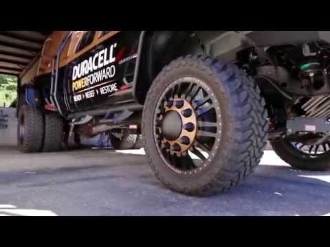 Duracell Power Forward's new truck: The Rugged Responder - YouTube