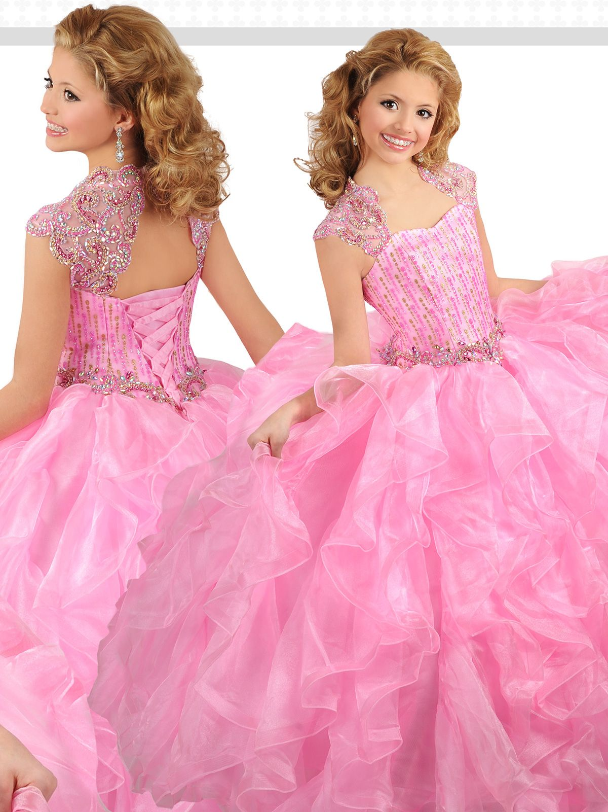 Reveal your natural princess in this majestic pageant dress Ritzee ...