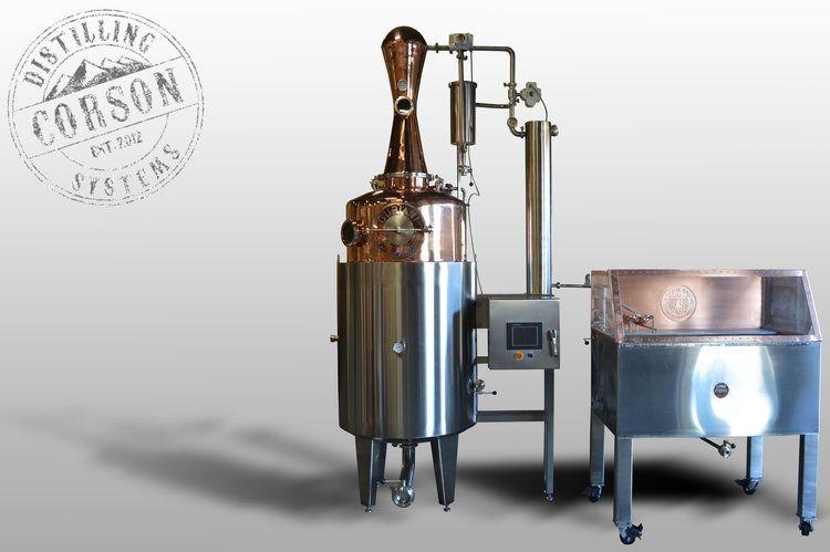 200 gallon automated gin still (Canada) | Fine snaps in 2019