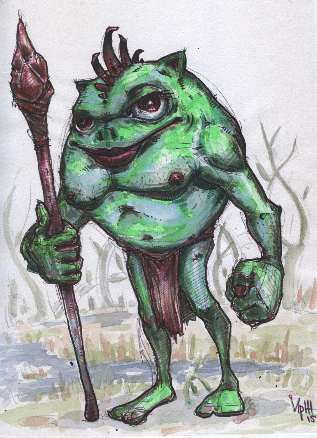 Trashman by BorisResin on Etsy | My works | Pinterest | Acrylics ...