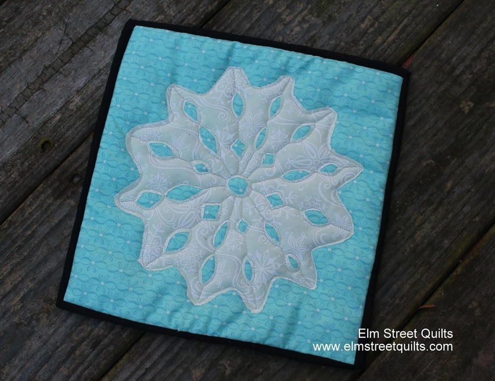 Winter Snowflake Block Tutorial | Quilt | Snowflake quilt, Quilt