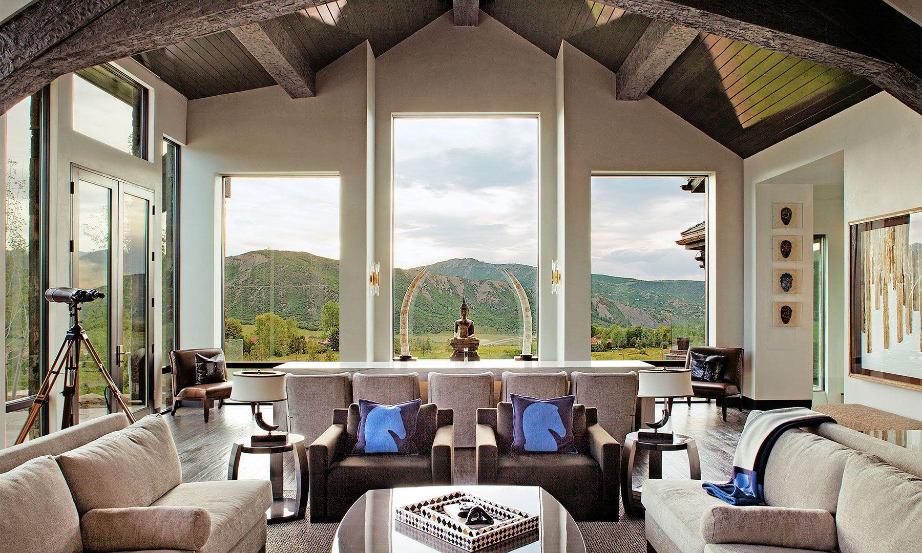 Tour an aspen home with beautiful views robert scott aspen and tour an aspen home with beautiful views geotapseo Choice Image