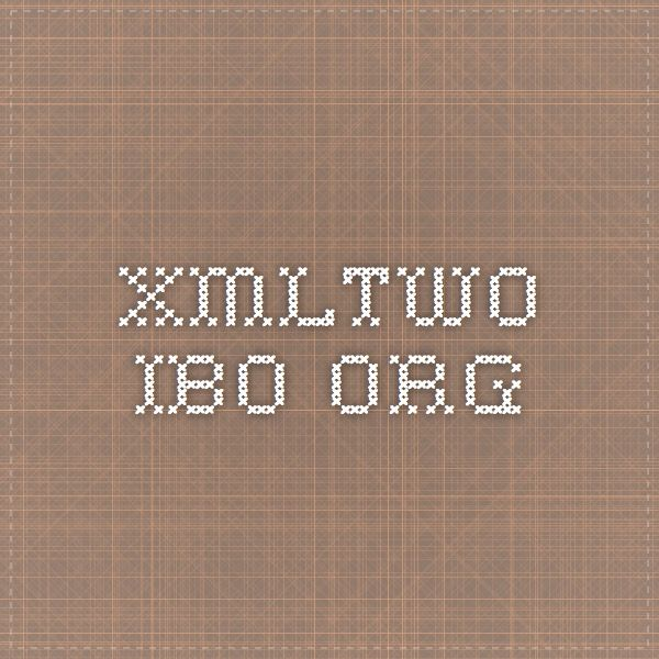 xmltwo.ibo.org