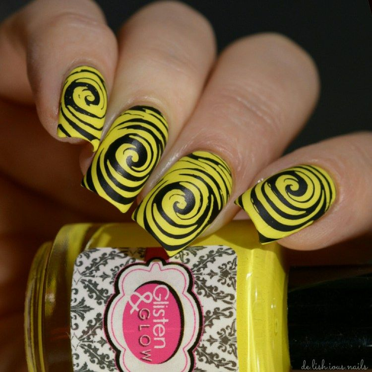 Glisten Glow Oh The Places Youll Go Stamping Nail Art And Nail Nail