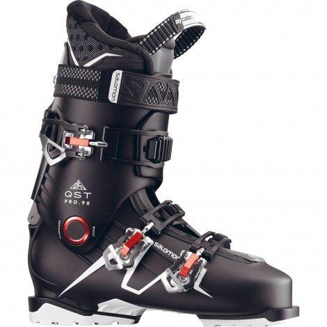 Salomon QST Pro 90 skischoenen heren black anthracite red
