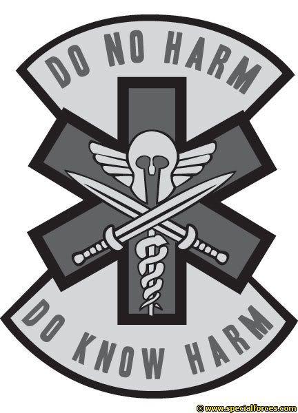 Combat Medic Do No Harm Soldiers Sailors Marines Airmen