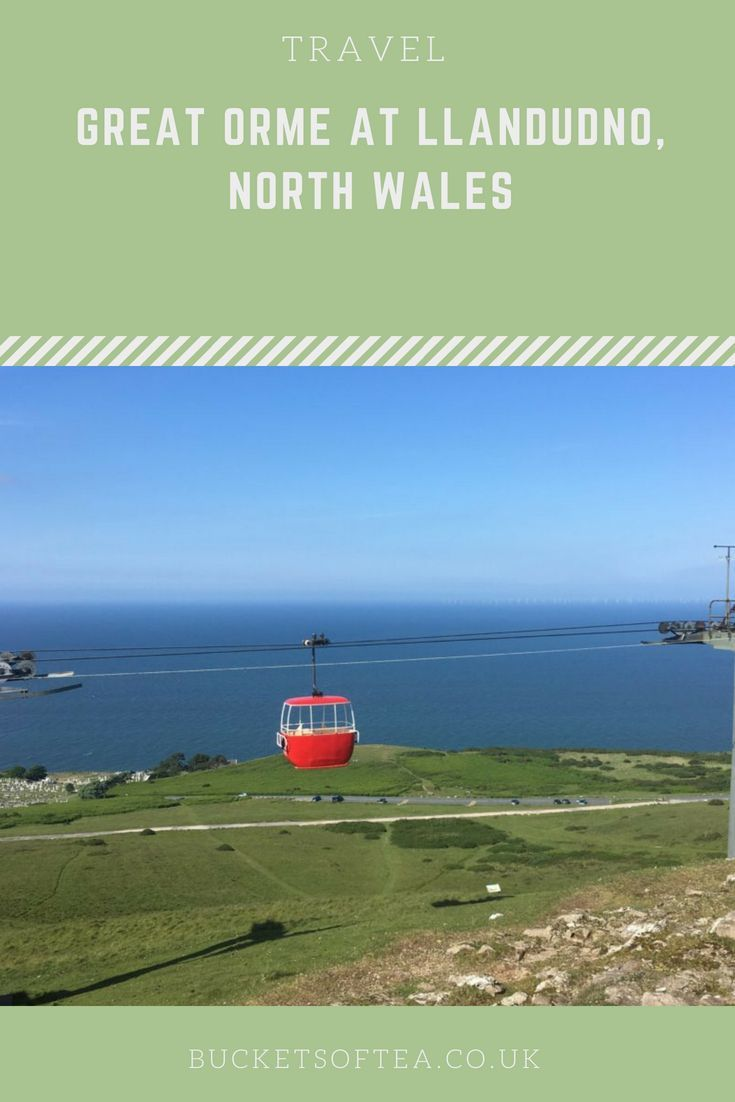 Great Orme at Llandudno, North Wales #northwales
