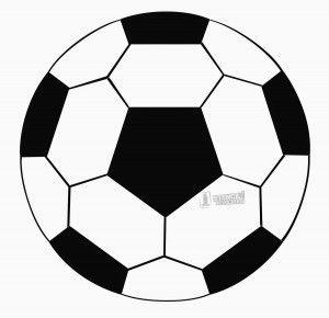 Soccer Ball Stencil Soccer Ball Soccer Decor Soccer