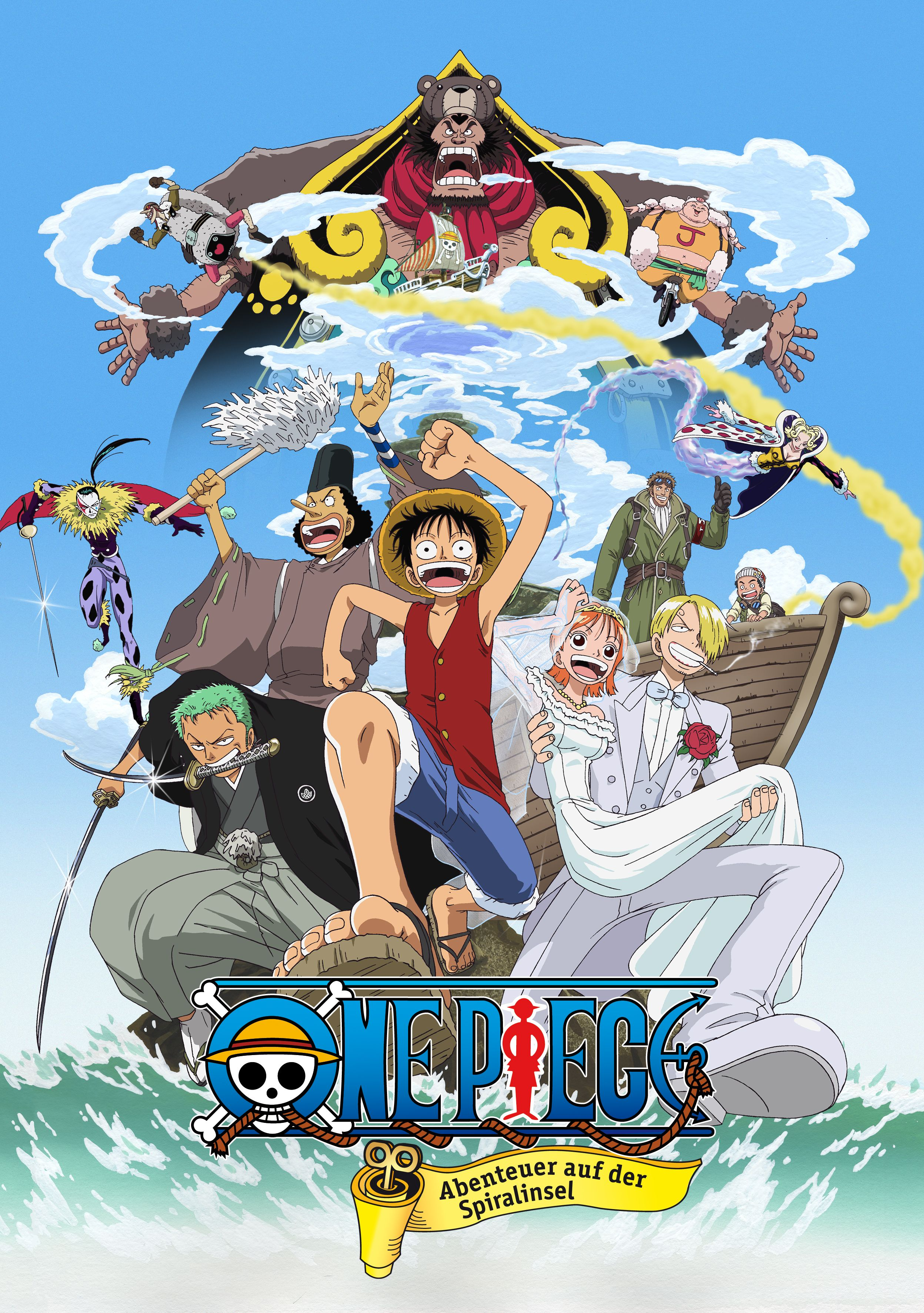 One piece clockwork island adventure one piece movies