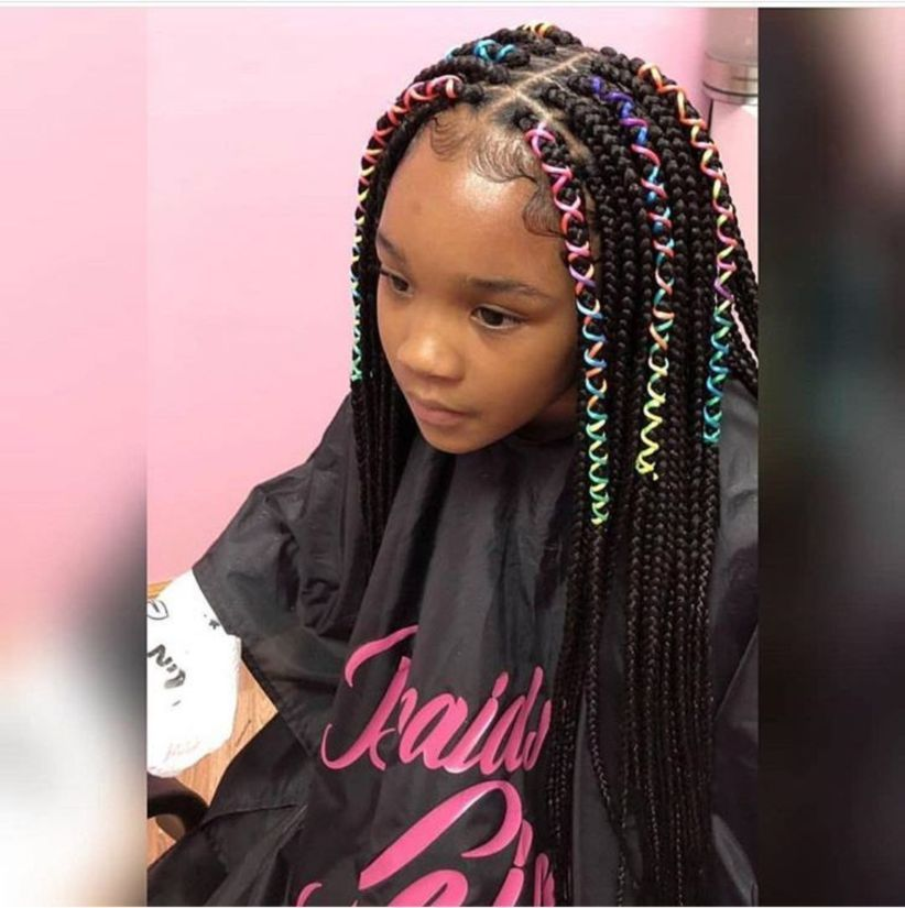 Natural Black Hairstyle Ideas For Curly Little Girls 13 Hair Styles Braid Styles For Girls Kids Braided Hairstyles