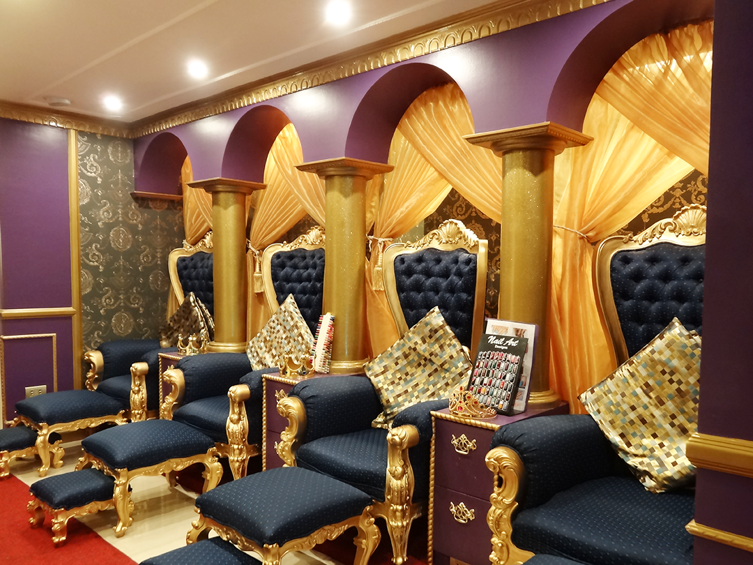 BLOGGED: Feeling Royalty: Princess Hazel Salon & Spa
