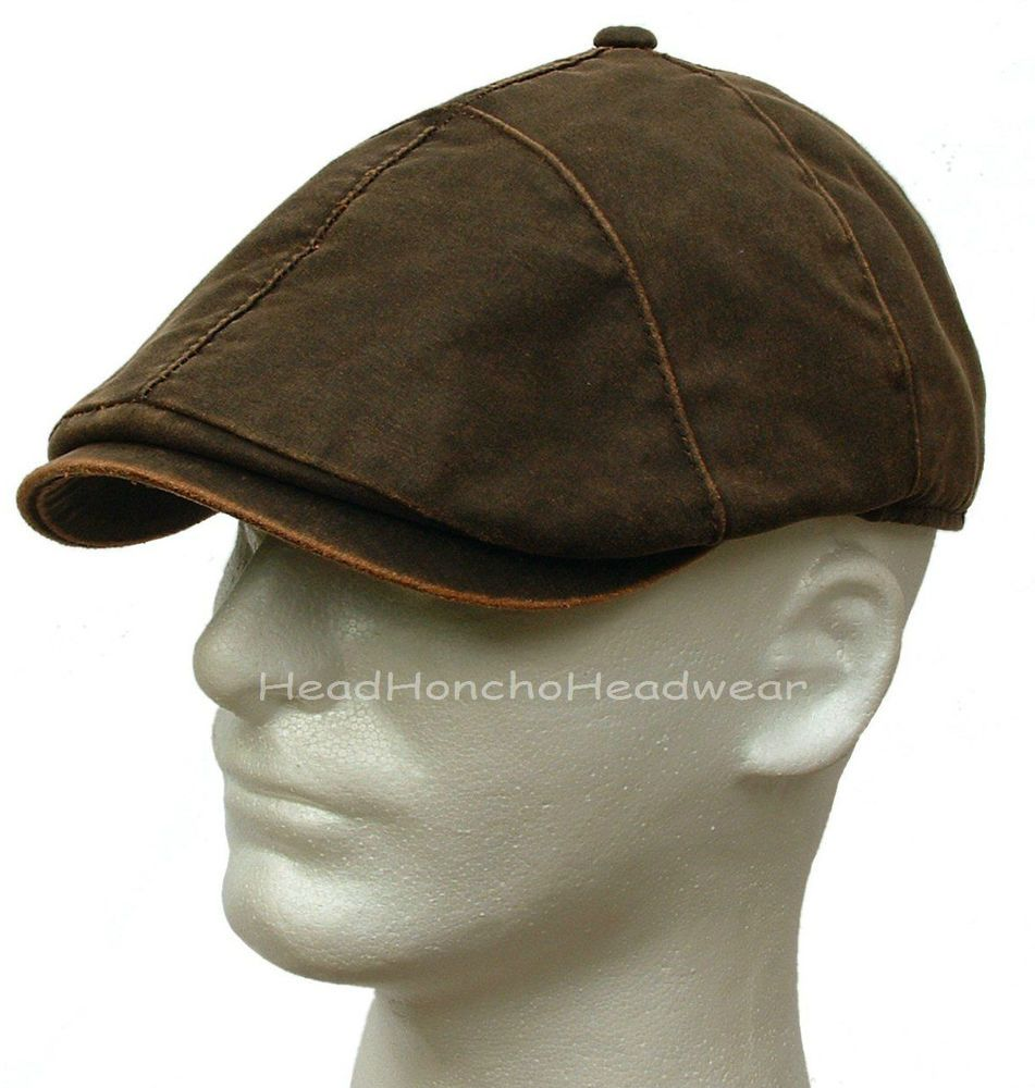 5c756ce1632 STETSON WEATHERED COTTON IVY CAP NEWSBOY MEN HAT GATSBY GOLF DUCKBILL  DRIVING