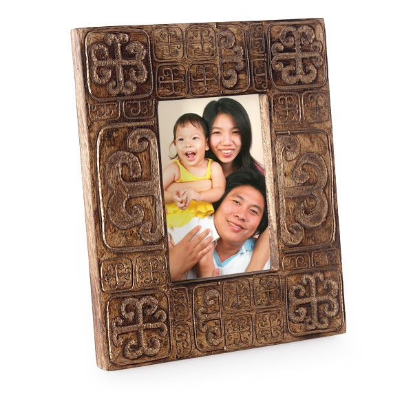 I love this WorldCrafts photo frame!