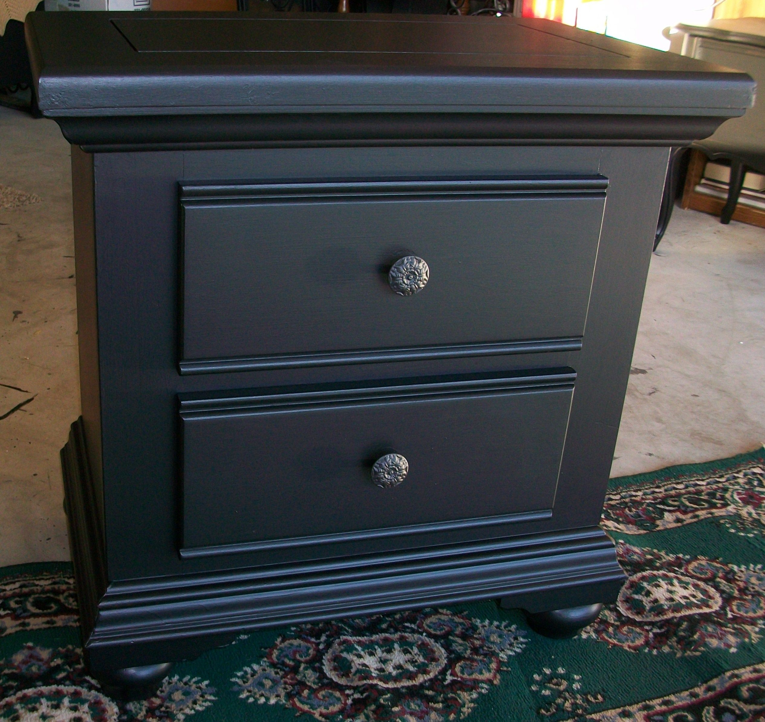 Black Broyhill Nightstand Broyhill furniture, Redo furniture
