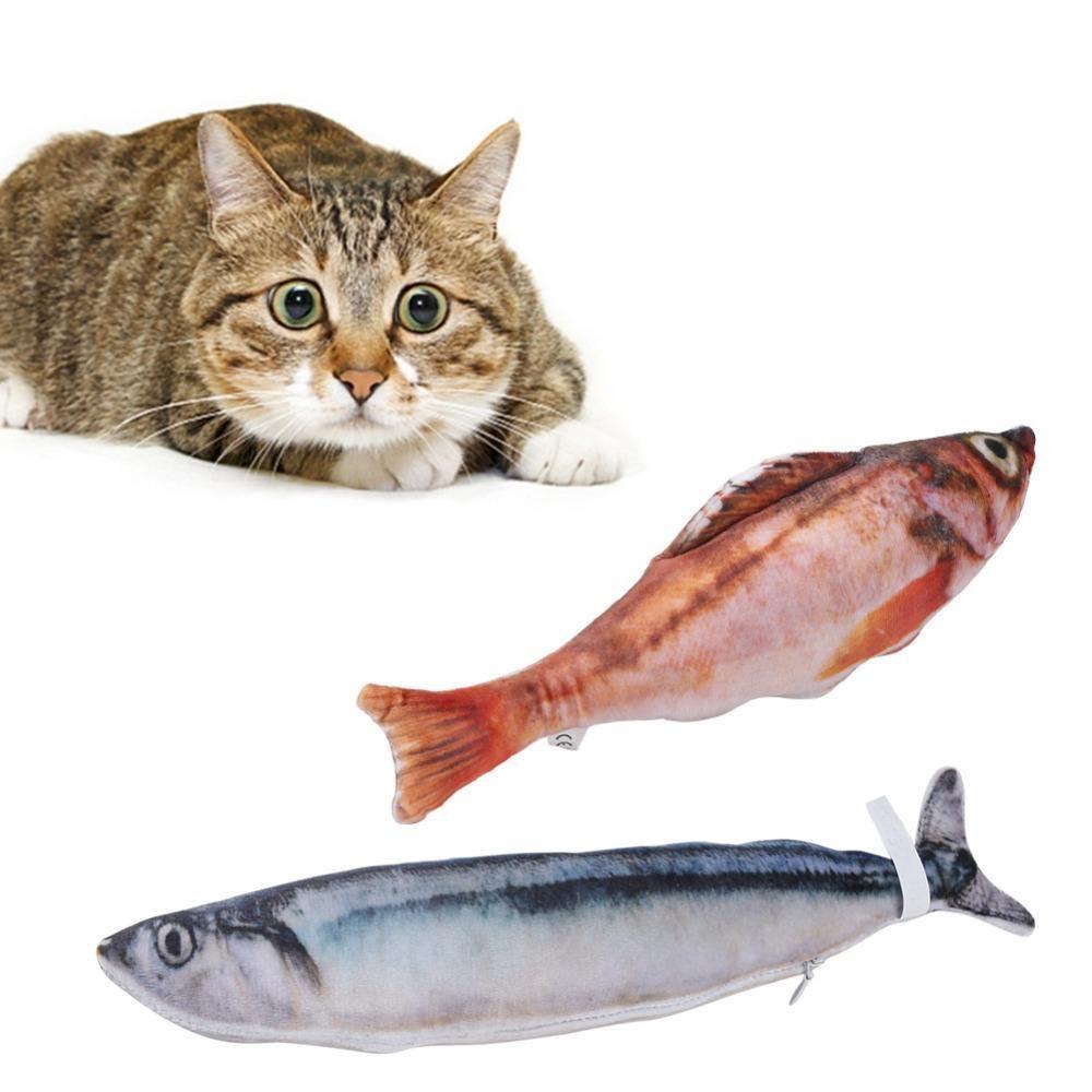 Sale Fish Cat Toy Catnip Kicker Cat Toys Fish Cat Toy Cat Love