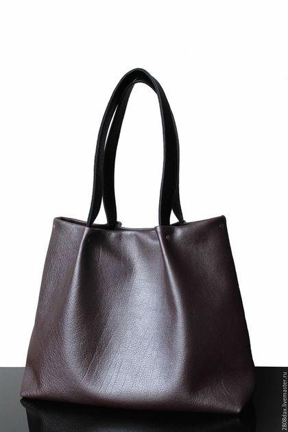 4365b1b34d74 Женские сумки ручной работы. Ярмарка Мастеров - ручная работа. Купить  Кожаная сумка, сиреневый
