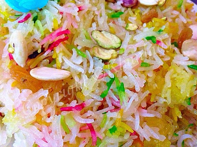 ZARDA - SWEET RICE | Tea cakes recipes, Rice, Orange food ...