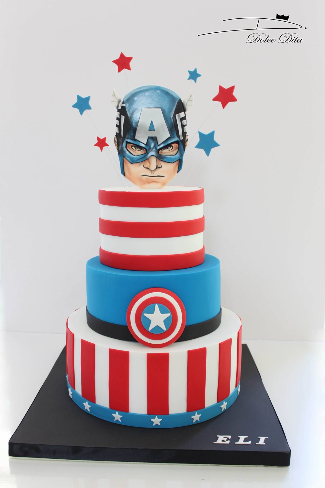 Tremendous Cake Cakedesign Gateau Dolcedita With Images Captain Funny Birthday Cards Online Alyptdamsfinfo
