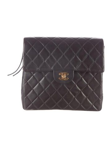 3a486cb28e46 Chanel Vintage Quilted Lambskin Backpack