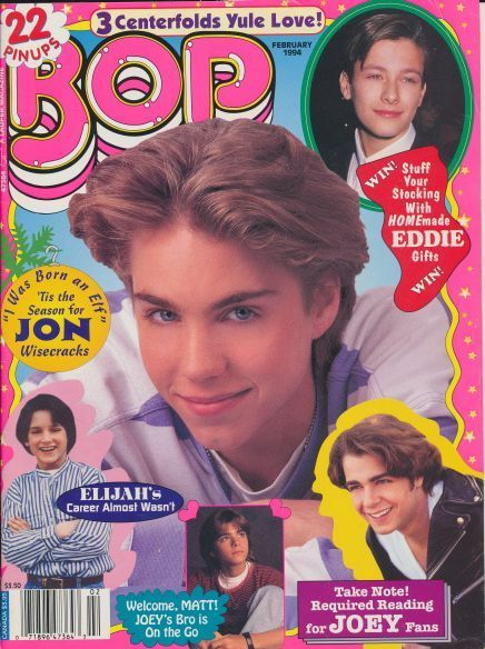 It Was All About Jonathan Brandis And Joey Lawrence In