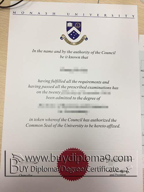 Monash University Certificate Buy Diploma Buy College Diplomabuy
