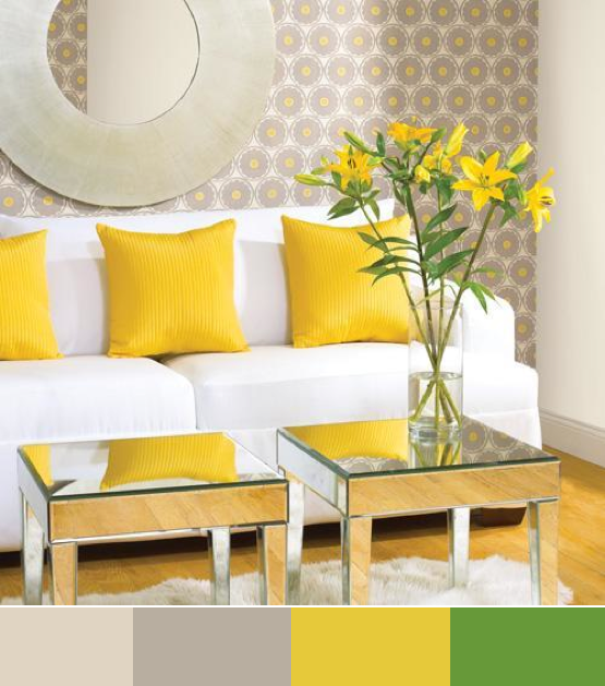 Yellow was my favorite color for decor in the mid 1970s Glad to see