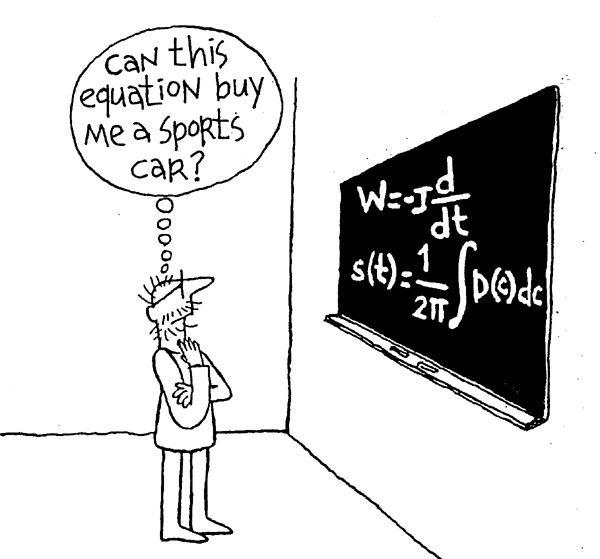 Can this equation buy me a sports car? (Tayfun Akgul