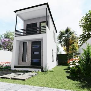 16x30 Tiny House 1 Bedroom 1 Bath 480 sq ft PDF Floor Plan Instant Download Model 4
