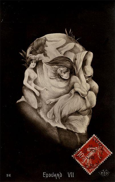 Eduardo VII (Postal metamórfica) by Museo Ilusionario, via Flickr