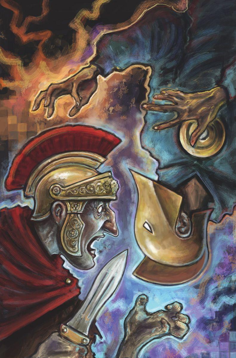 DOCTOR_FATE_11El emperador Julio César ha llegado desde el más allá ...